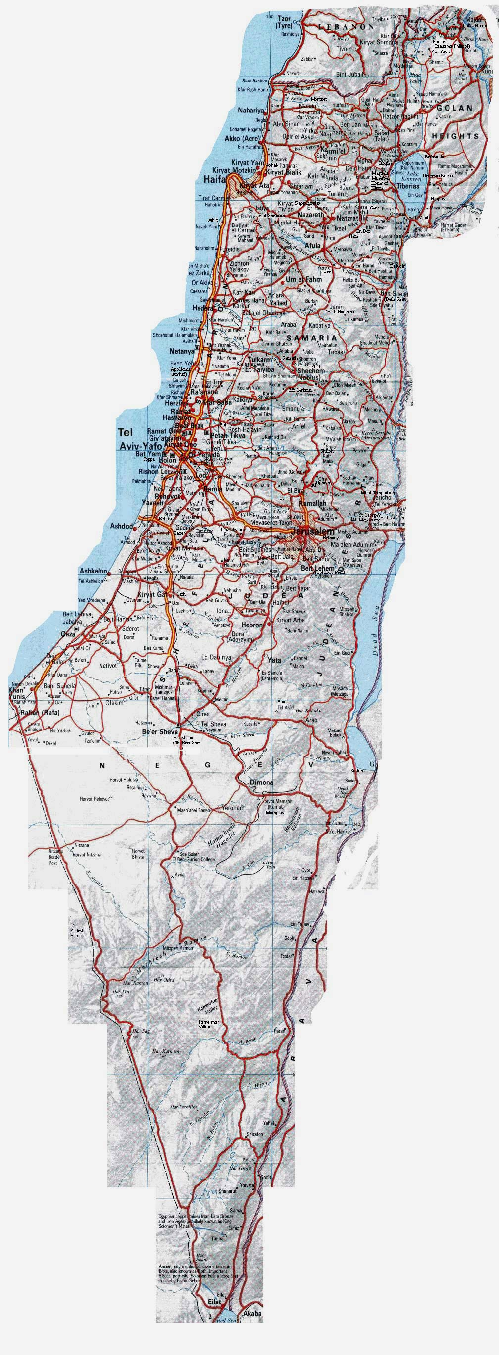 large_detailed_road_map_of_israel